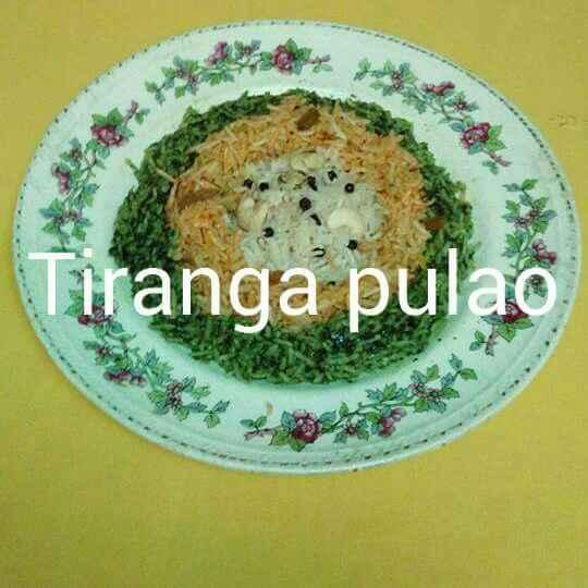 How to make Tiranga Pulao