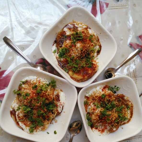 How to make Dahi chaat (curd)