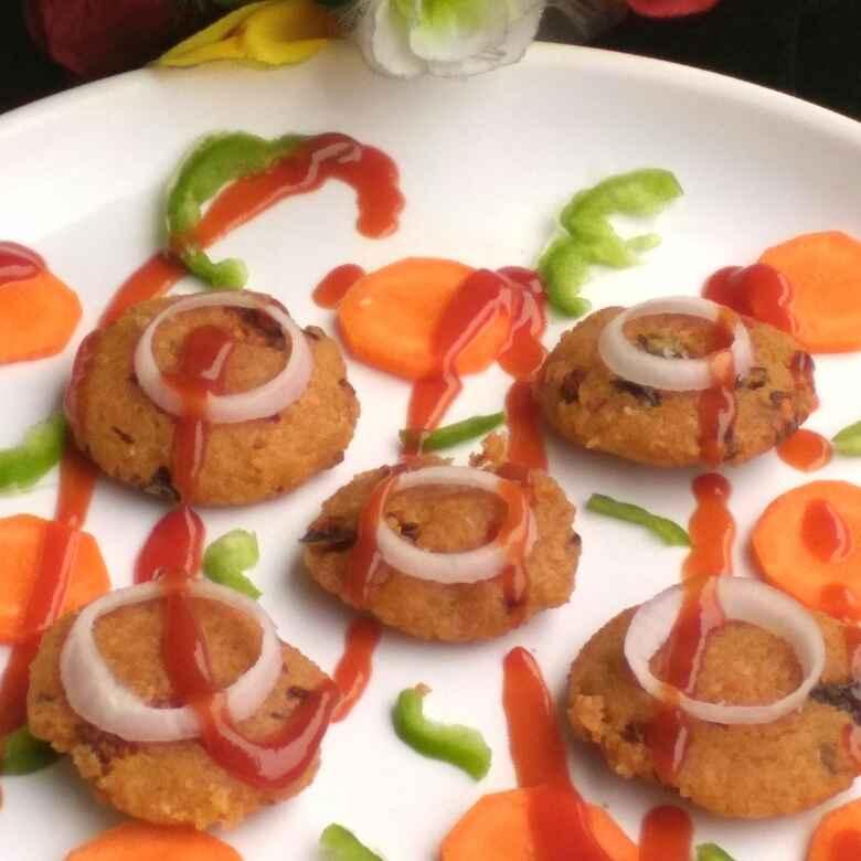 Photo of Potato beans veggie cutlet by Geeta Gambhir at BetterButter