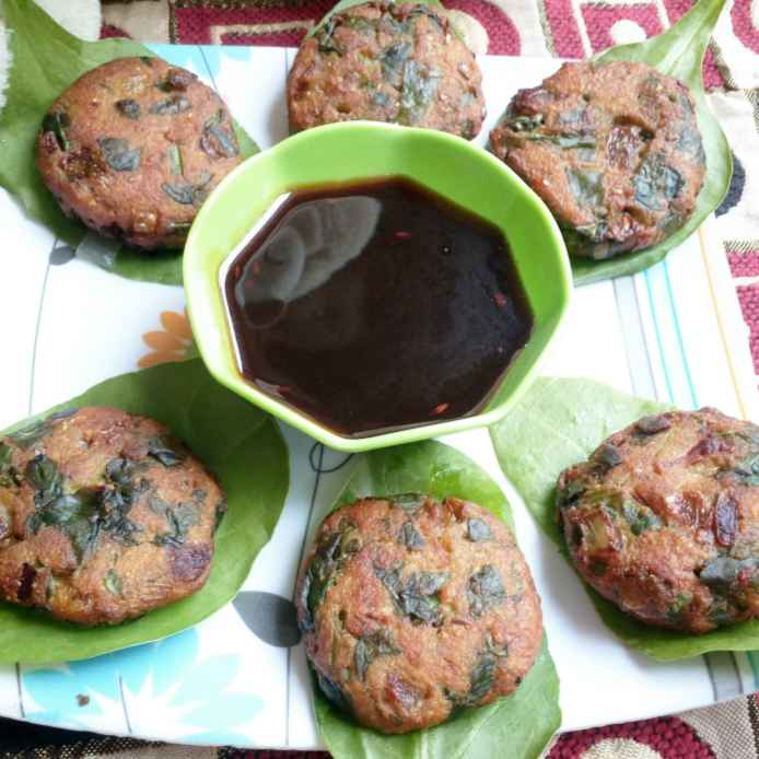 How to make Palak cutlet