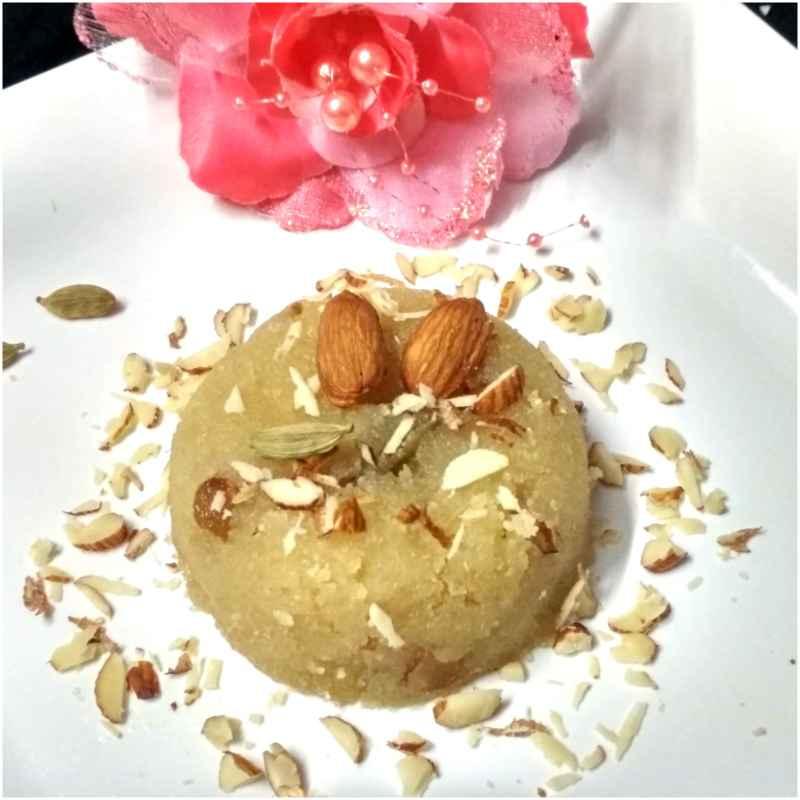 Photo of Wheat Rava Pudding by Geeta Gambhir at BetterButter