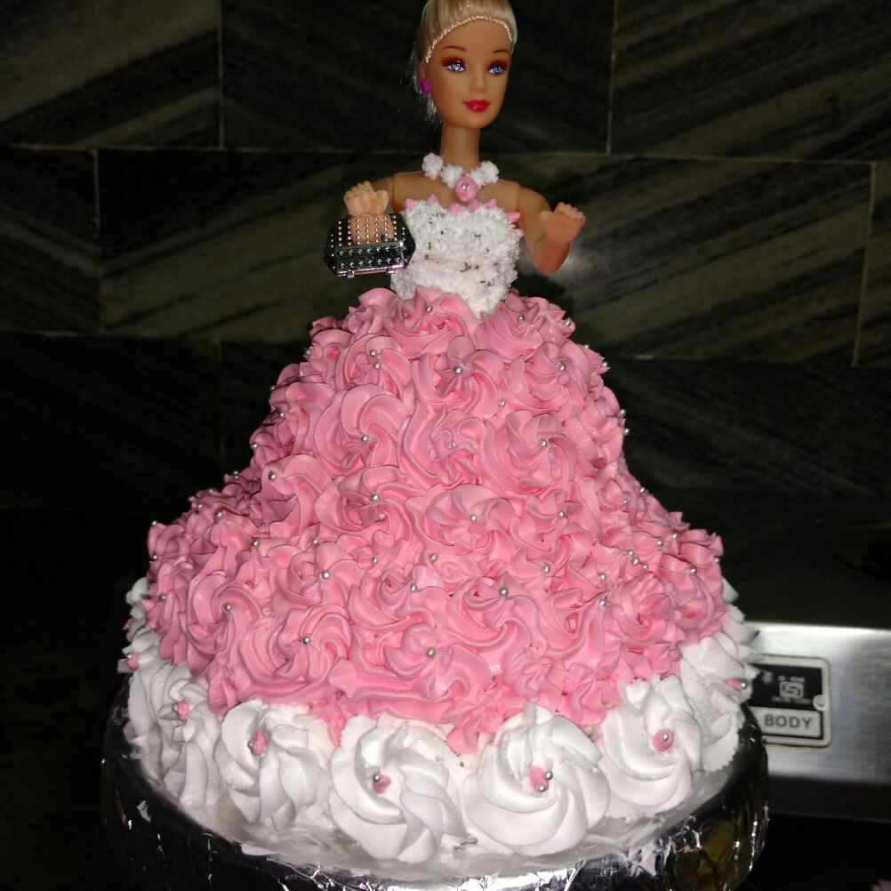 Photo of Doll cake by Geeta Hemit at BetterButter