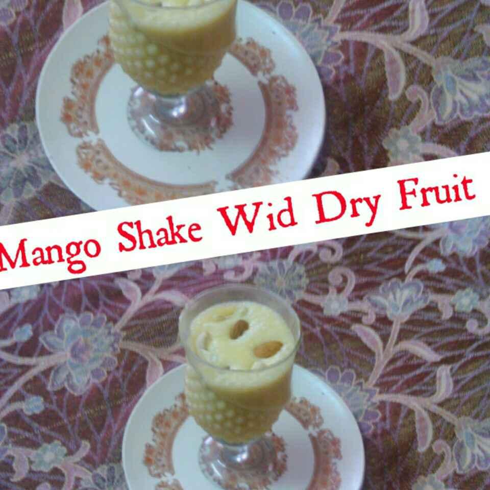 How to make Mango Shake With Dry Fruits