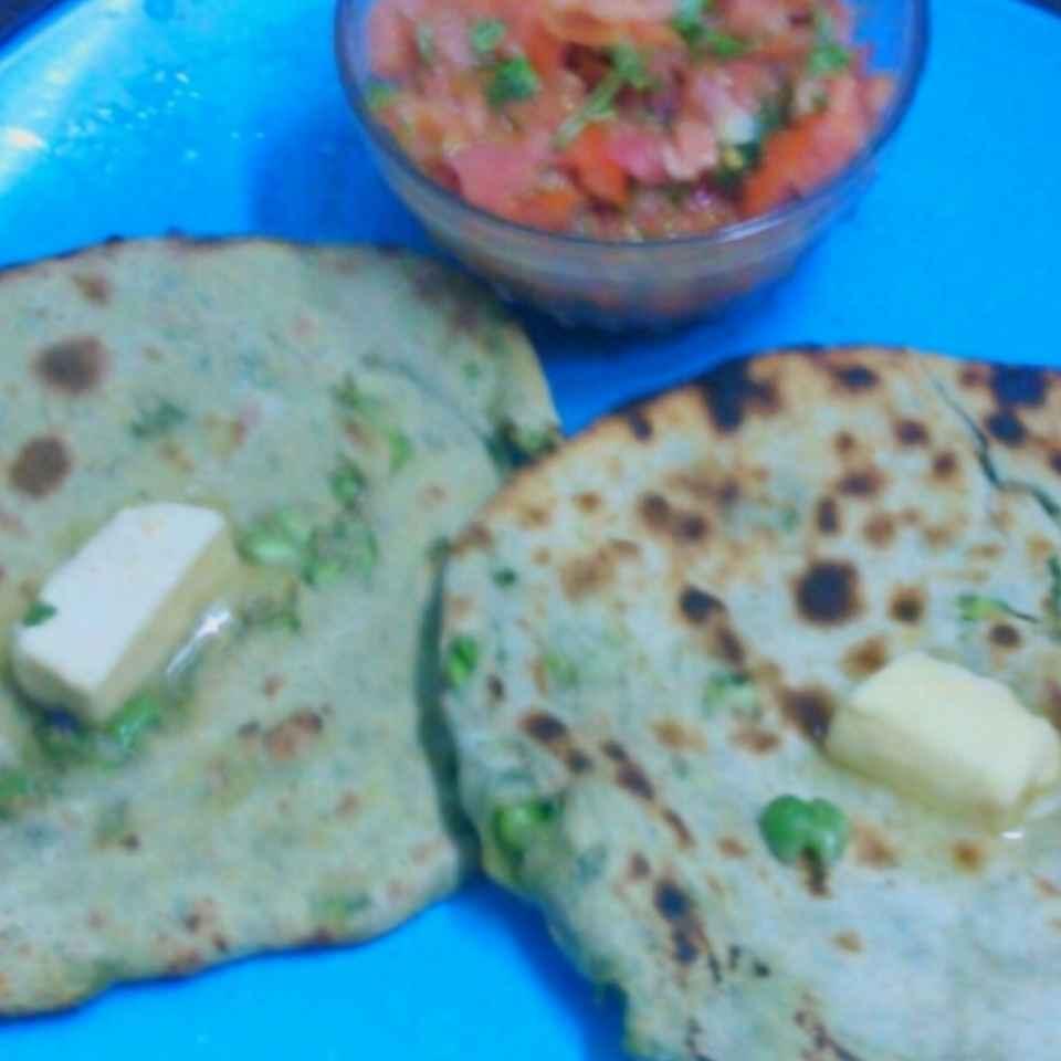 How to make మటర్ కుల్చా
