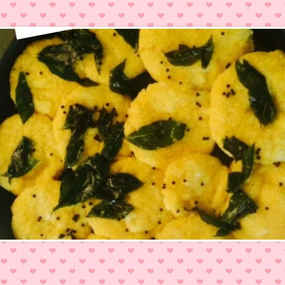 How to make Spicy Dhokla.