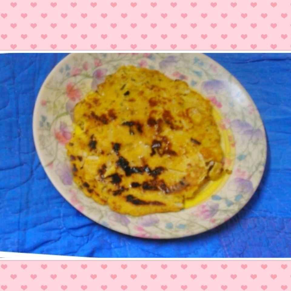 Photo of Makki ki mooli wali Roti. by Geeta Khurana at BetterButter