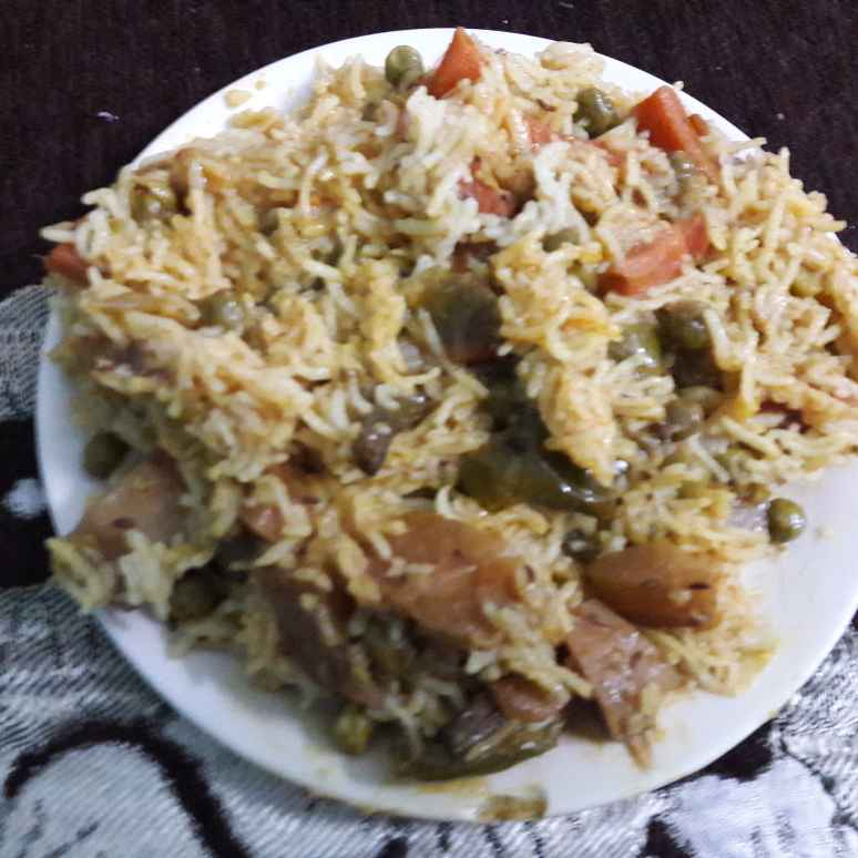 How to make Mixed veg Pulao