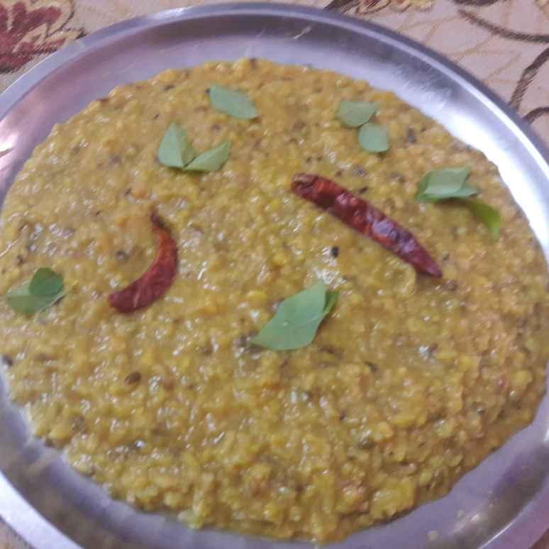 How to make Moong Dal Khichri.