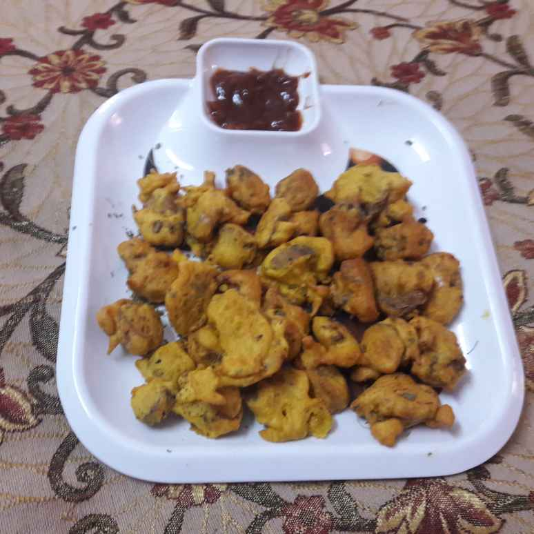 Photo of Lotus stem fritters by Geeta Khurana at BetterButter