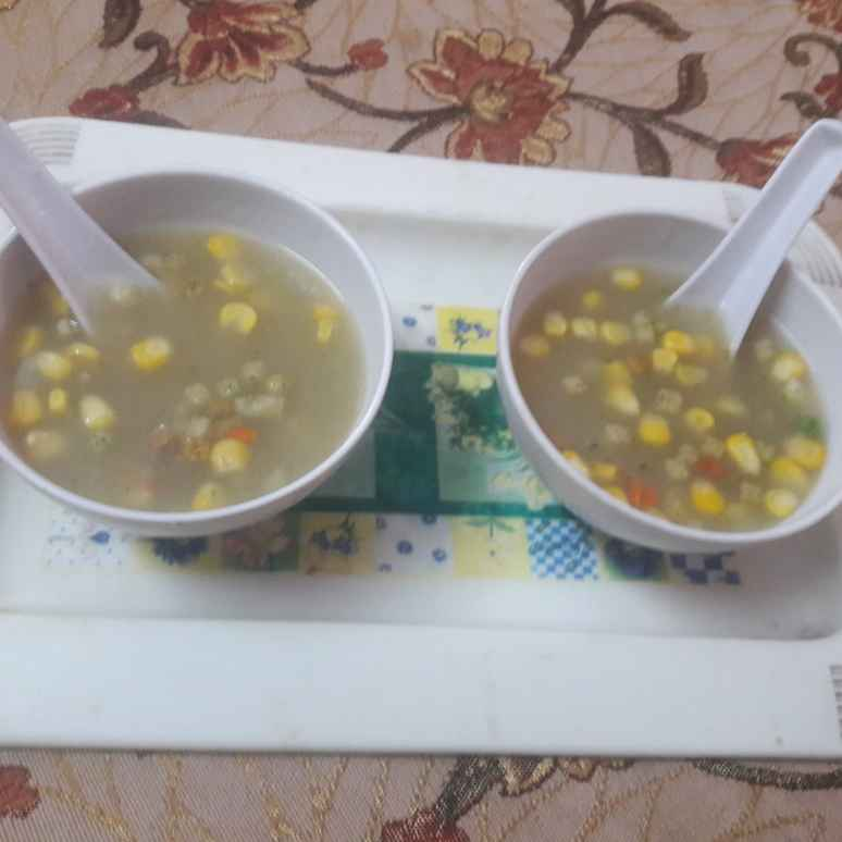 How to make Sweet corn soup