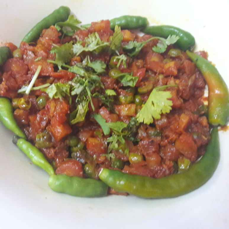 Photo of Masala gajar matar by Geeta Khurana at BetterButter