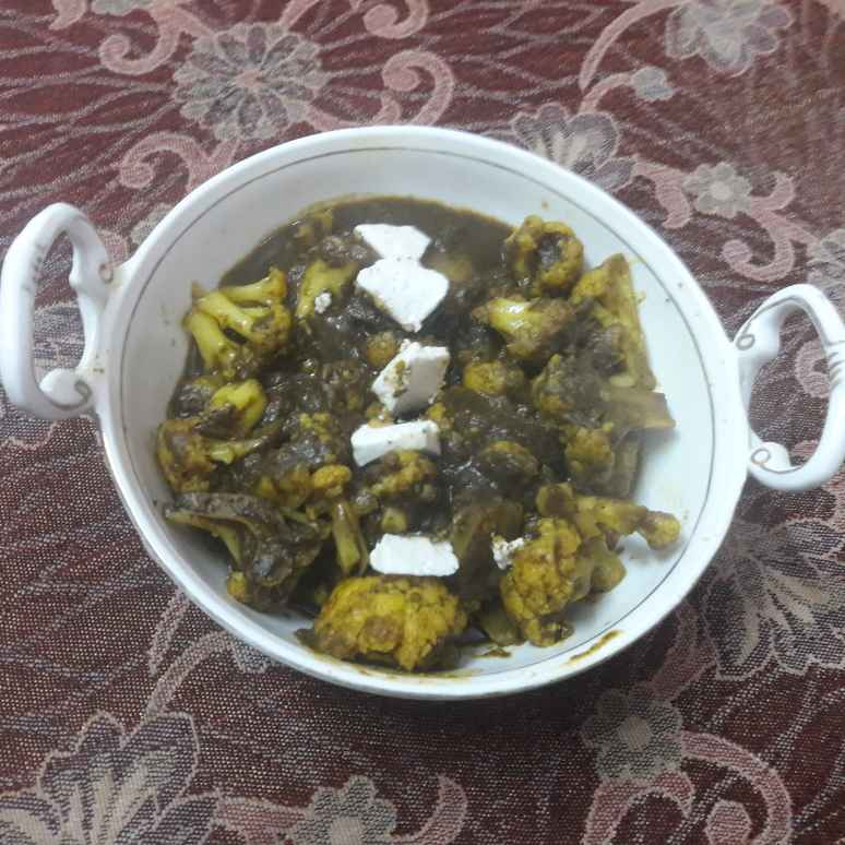 How to make Hariyali gobhi