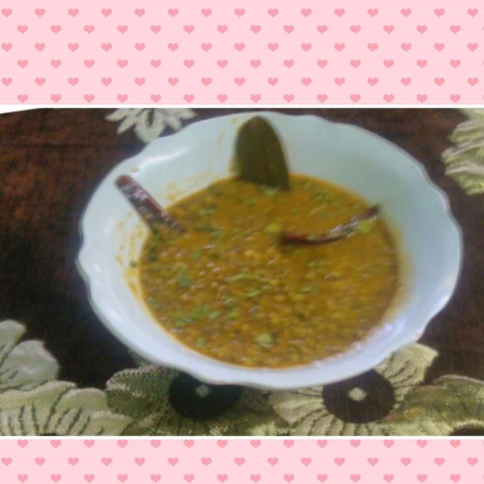 How to make Green moong Dal
