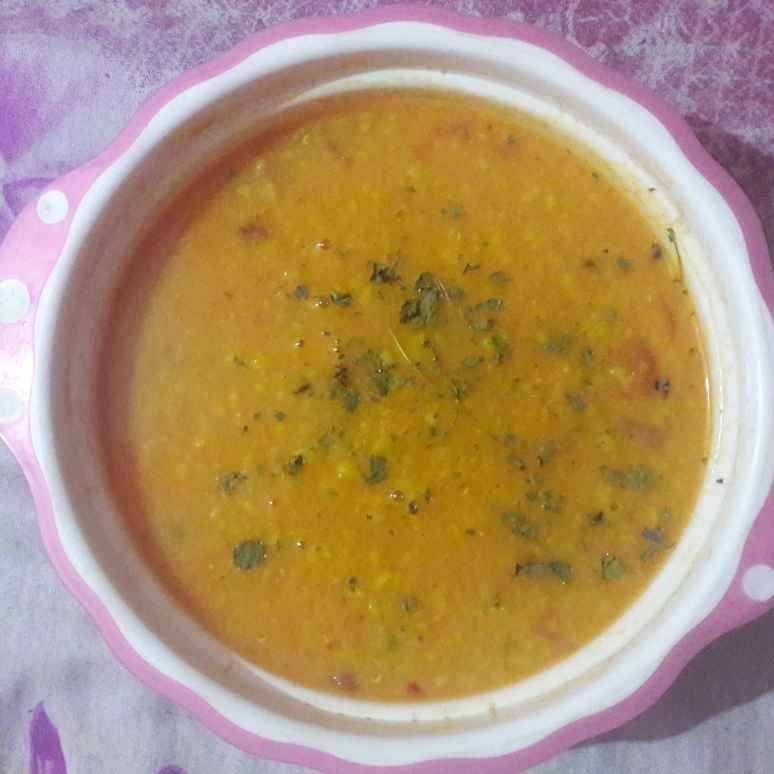Photo of Yellow moong dal tadka. by Geeta Khurana at BetterButter