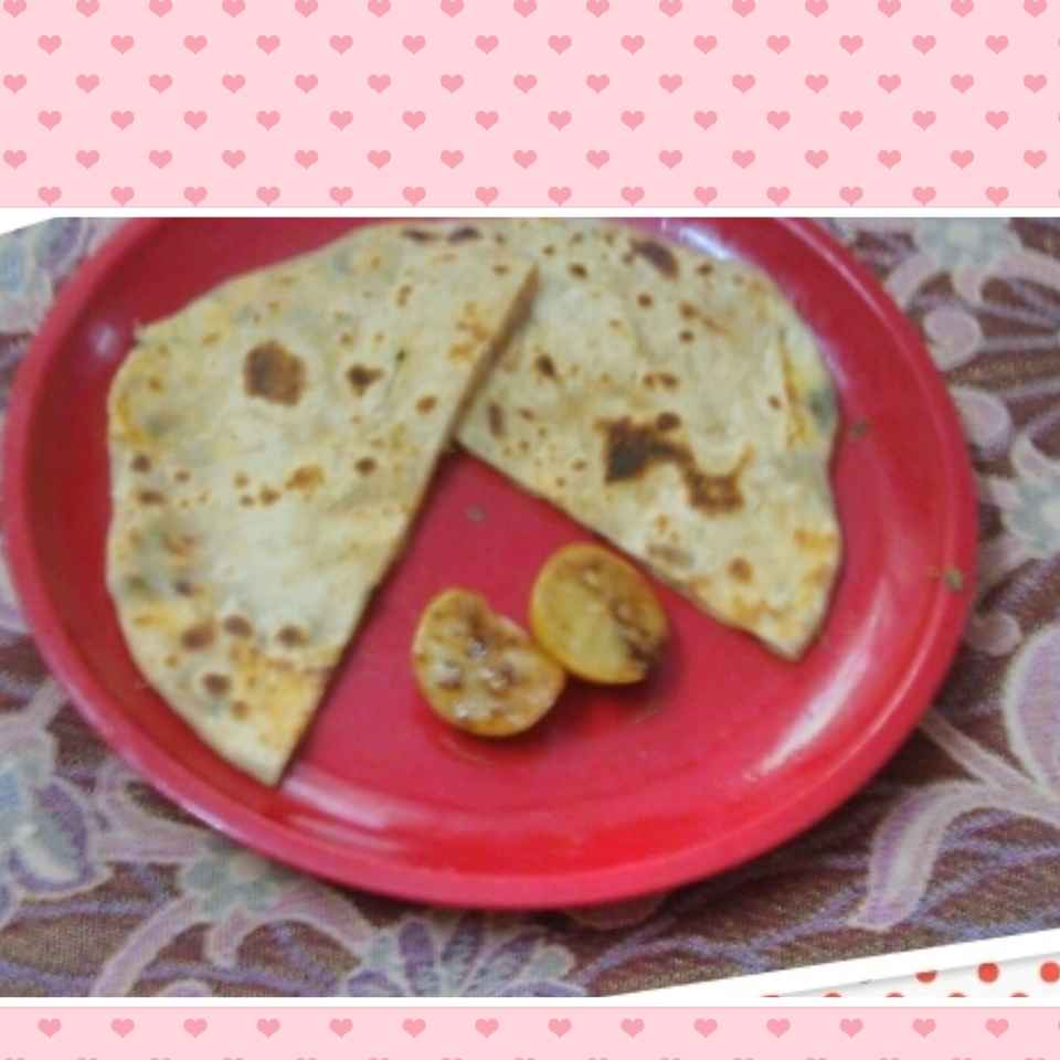 How to make Paneer ka parantha