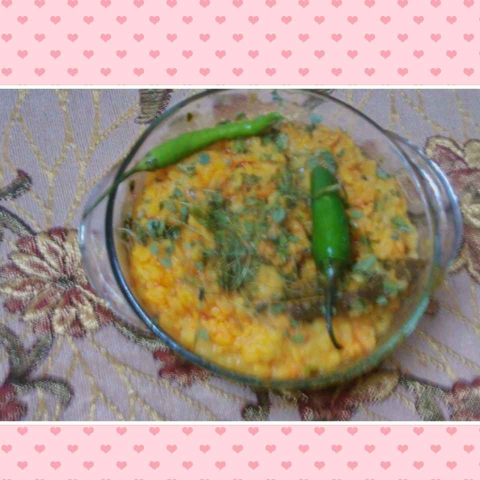 Photo of Dry yellow dal by Geeta Khurana at BetterButter