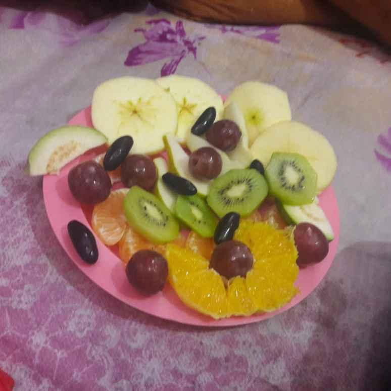 How to make Fresh fruit platter
