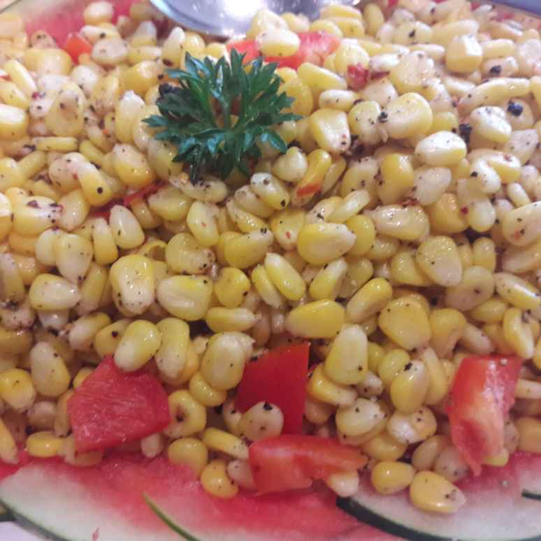 How to make Corn chat