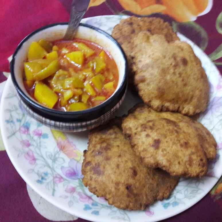 How to make Bedmi poori with Alloo Sabzi