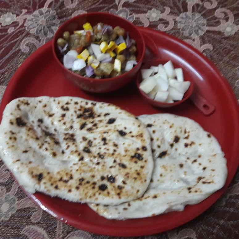 How to make Kulche Chane.