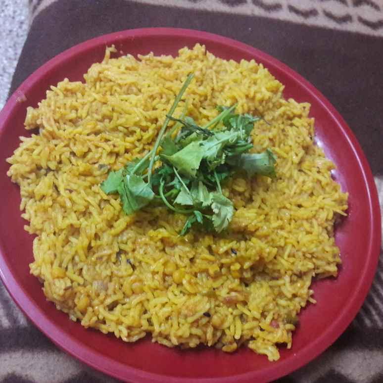 How to make Chana Dal Khichri.
