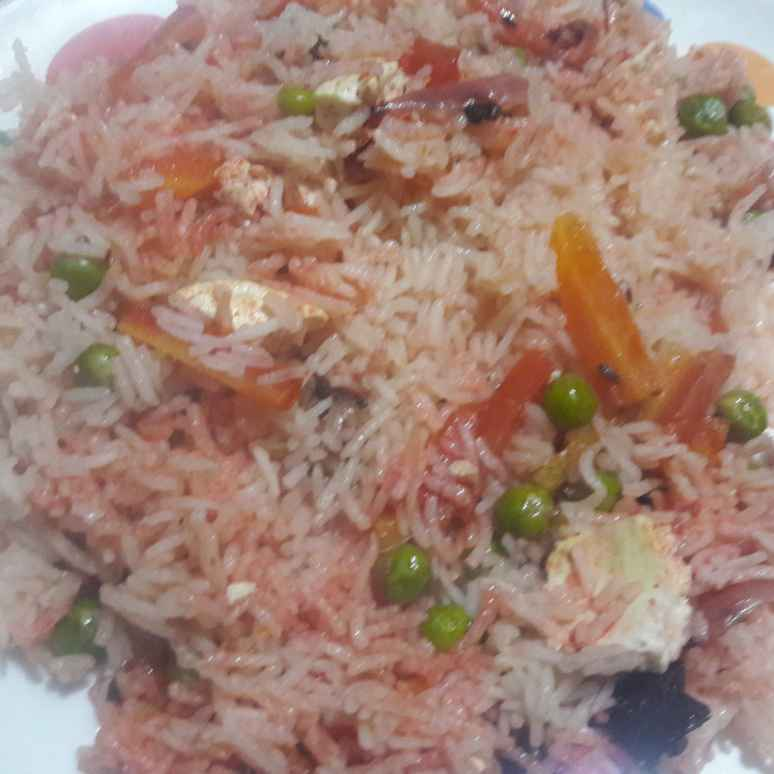 How to make Mixed Veg Pulao.