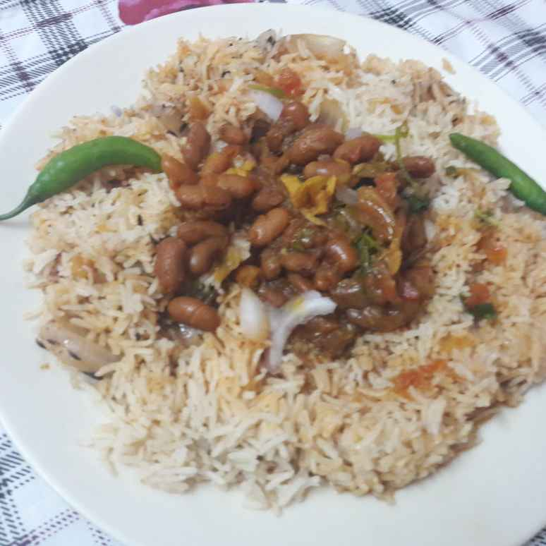 How to make Rajma Chawal.