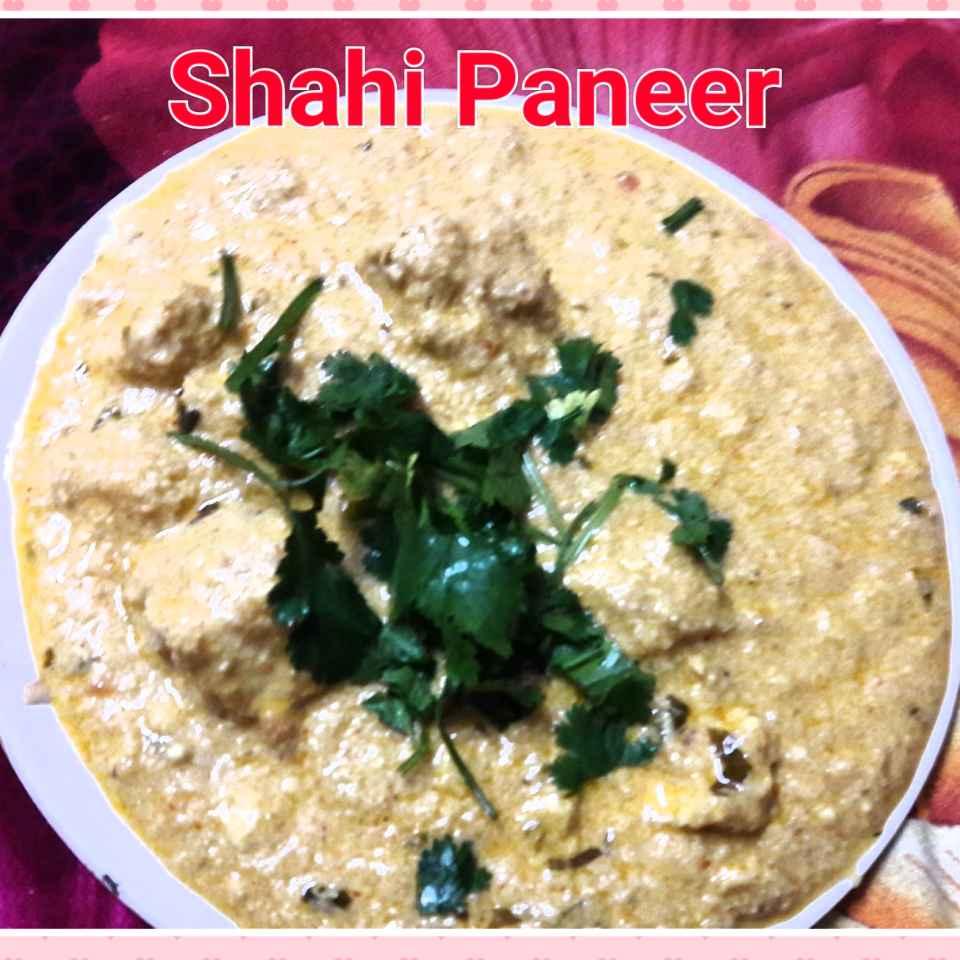 How to make Restaurant style Shahi panir in white gravy..