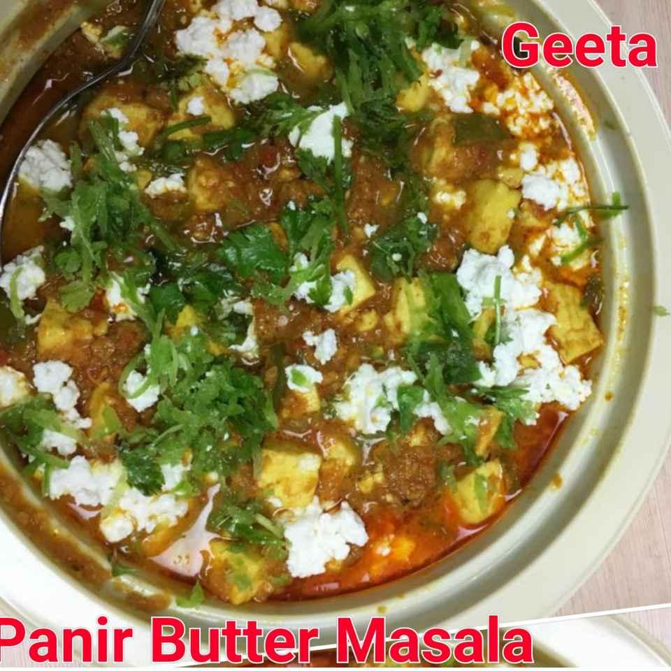 Photo of Panir butter masala. by Geeta Khurana at BetterButter