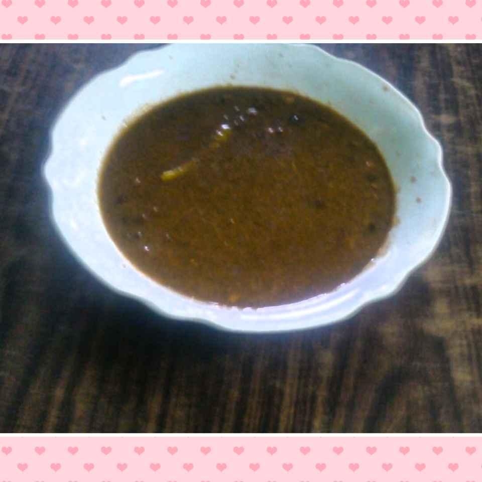 How to make Black chane.