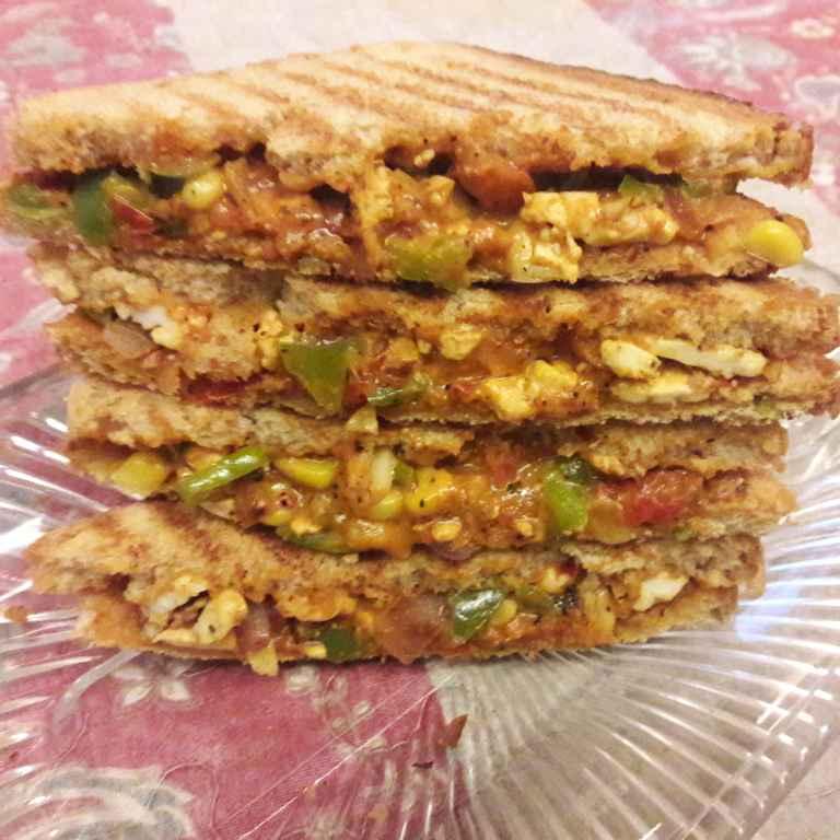 Photo of Corn paneer sandwich by Geeta Khurana at BetterButter