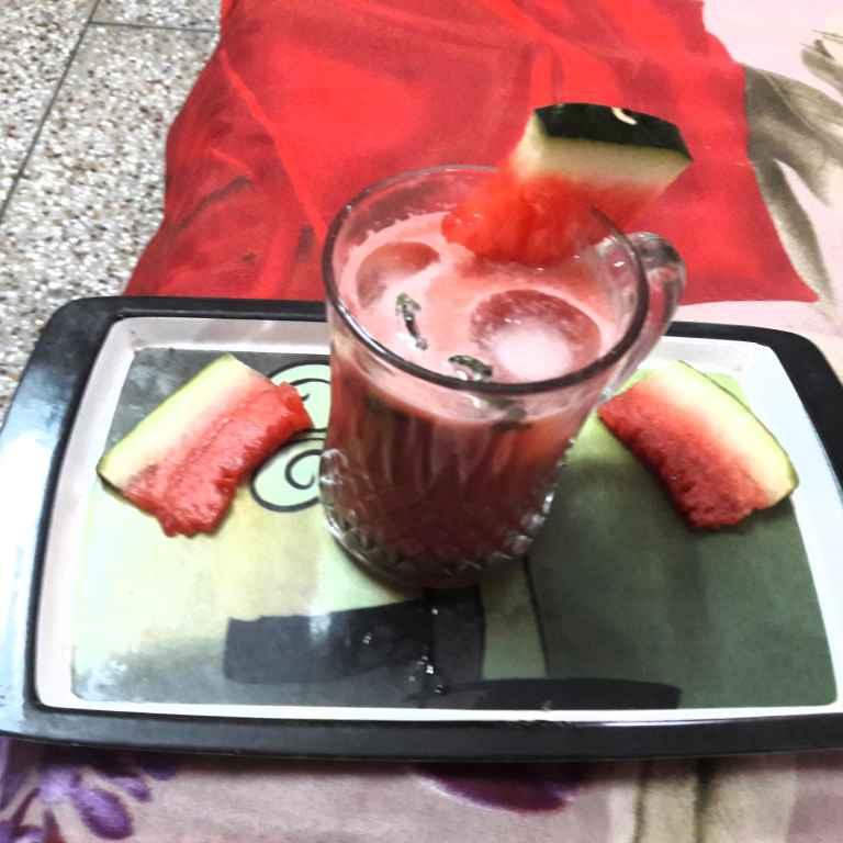 Photo of Watermelon cooler by Geeta Khurana at BetterButter