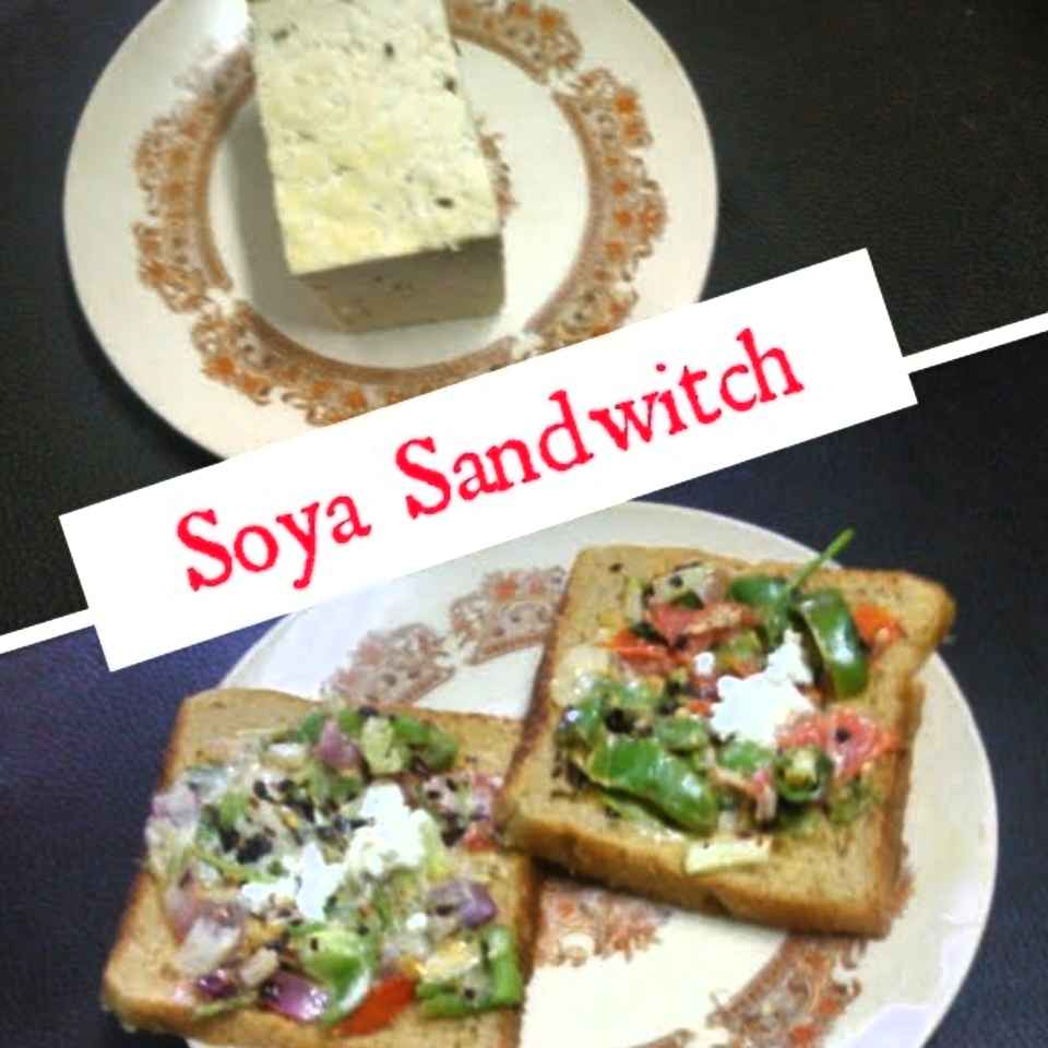 How to make Soya Sandwitch