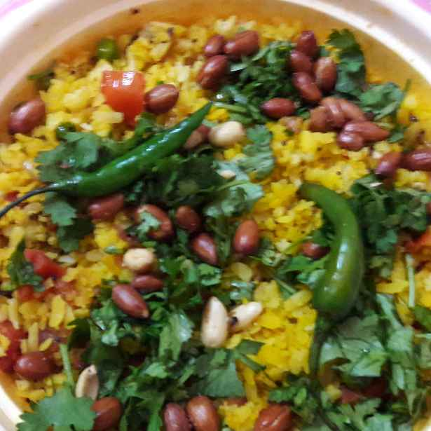 Photo of Peanut poha by Geeta Khurana at BetterButter