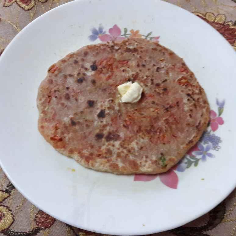How to make Gajar ka paratha