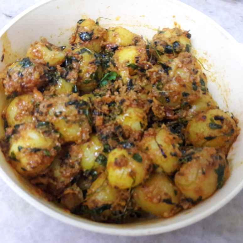 Photo of Masala baby potato by Geeta Khurana at BetterButter