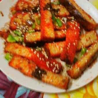 Photo of Schezwan bread sticks by Geeta Khurana at BetterButter