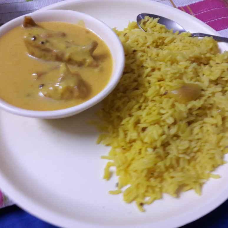 How to make Kari Chawal