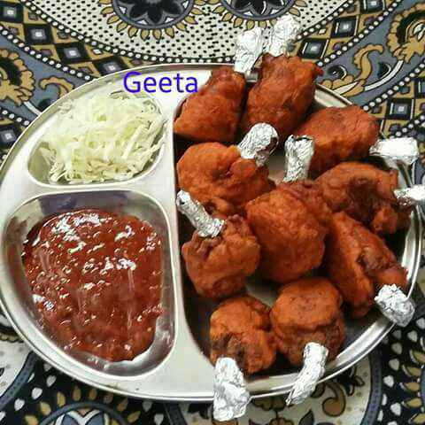 Photo of Chicken lollipop by Geeta Koshti at BetterButter