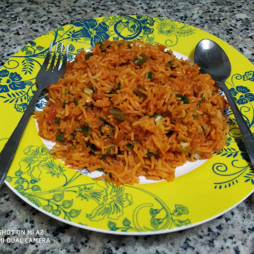 Photo of Shejwan fried rice by Geeta Koshti at BetterButter