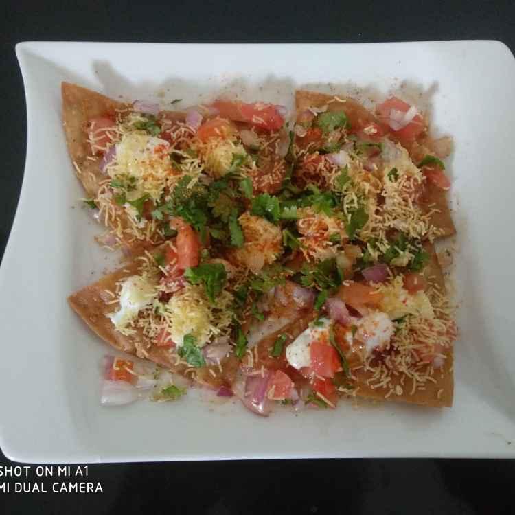 Photo of Chapati khasta chat by Geeta Koshti at BetterButter