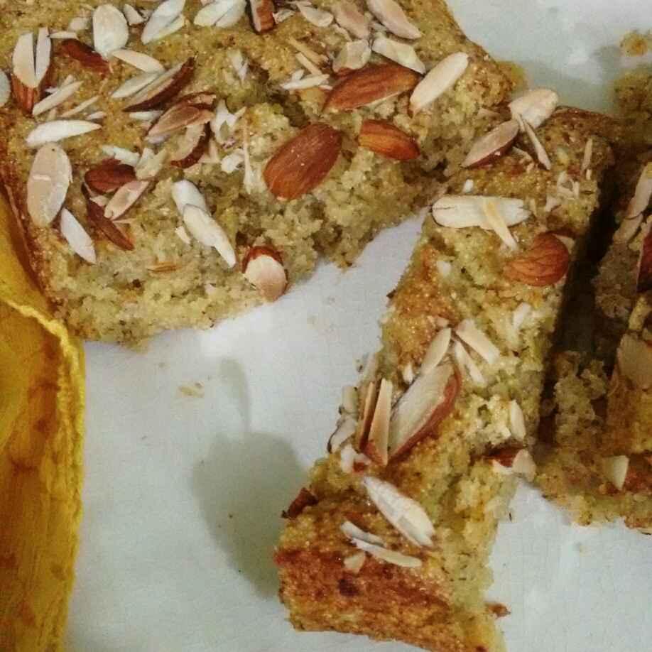 Photo of Semolina Mango Cake by Geeta Sachdev at BetterButter