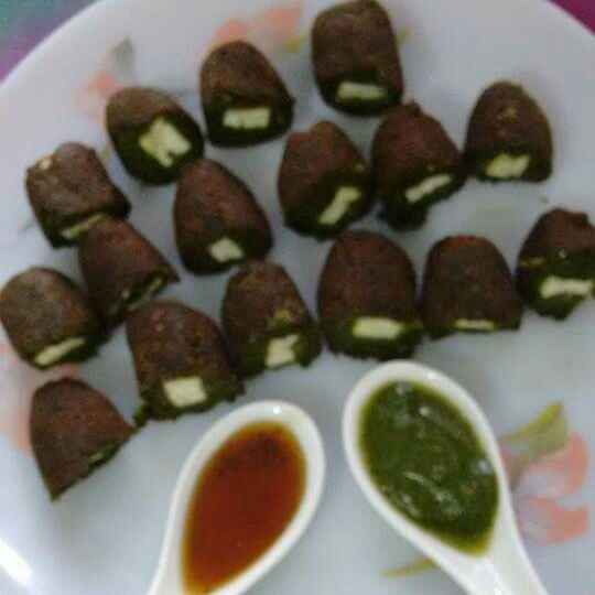 Photo of Hare bhare paneer cutlets by Geeta Sachdev at BetterButter