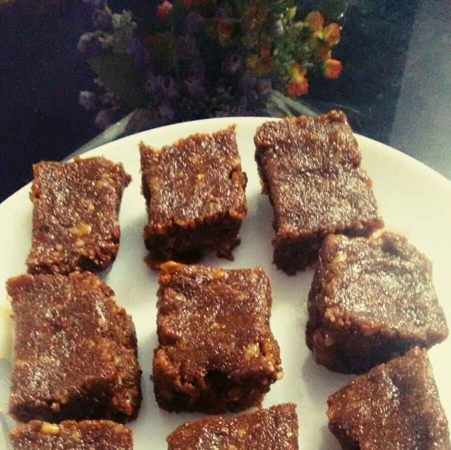 How to make Bread chocolate burfi