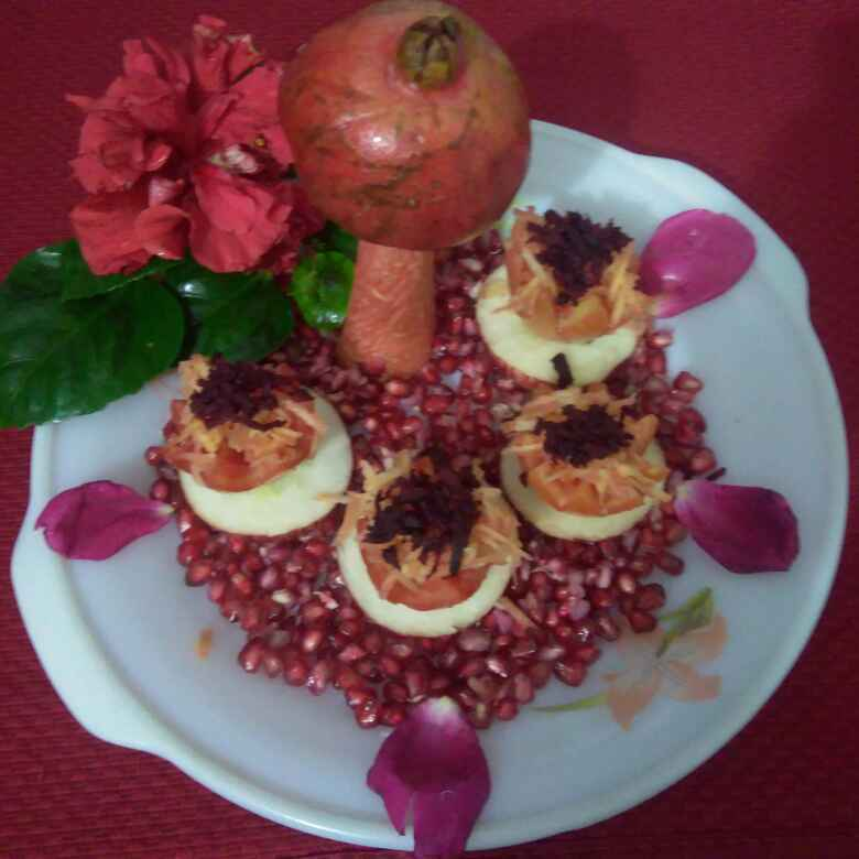 How to make Red salad