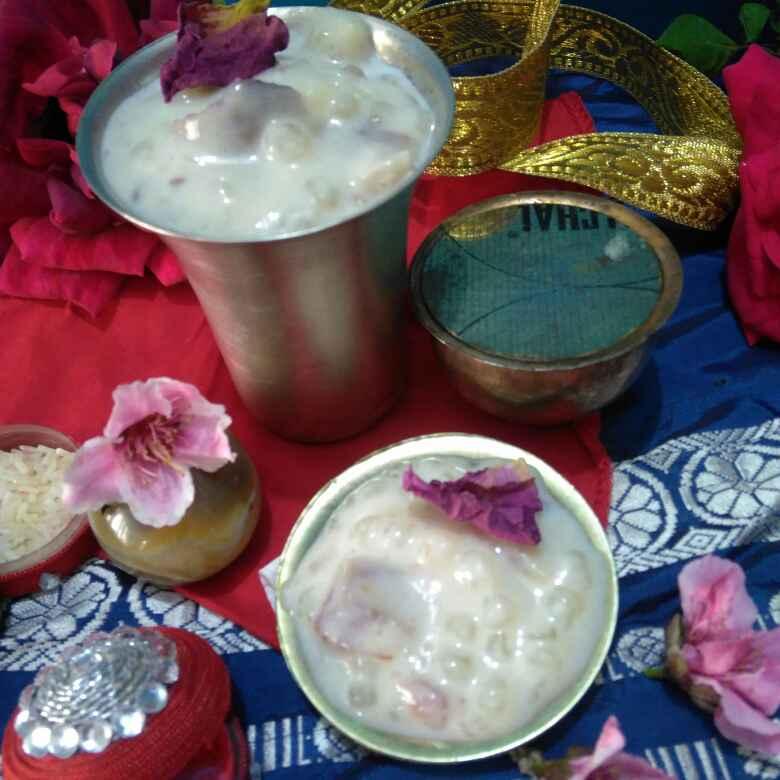 Photo of Sago Dates Kheer by Geeta Sachdev at BetterButter