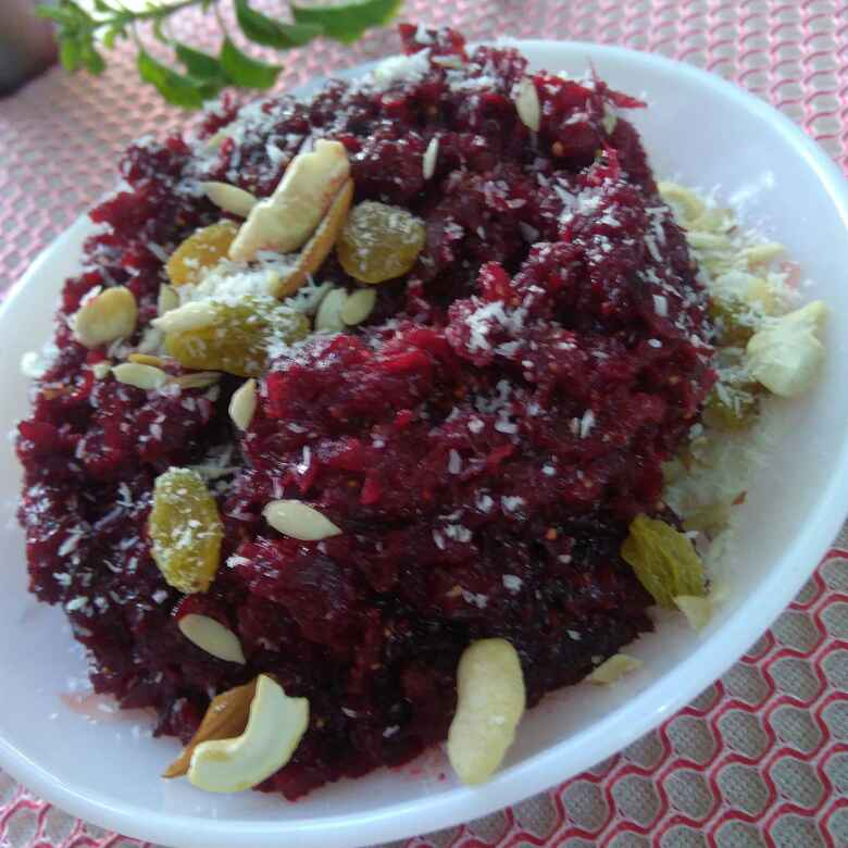 How to make Beet Root and Fig Halwa