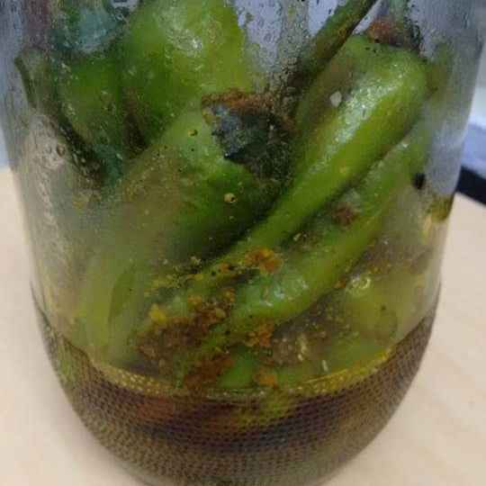 Photo of Green Chili Pickle by Geeta Sachdev at BetterButter
