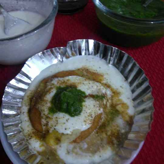 Photo of Dabal fride dal stfed aalu tikki by Geeta Sachdev at BetterButter
