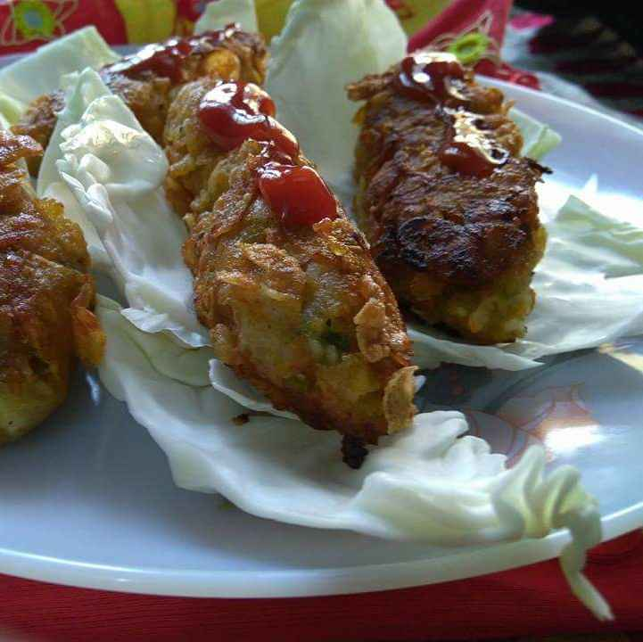 Photo of Mix veg cornflakes  rolls by Geeta Sachdev at BetterButter